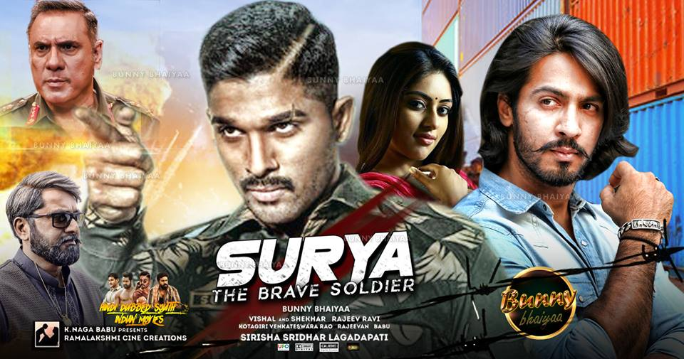 Surya The Brave Solider (2018) Hindi Dubbed 480p HEVC HDRip 350MB x264 Download