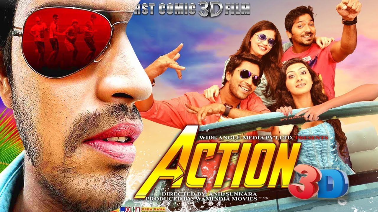 Action 3D (2018) Hindi Dubbed Movie 720P HDRip 700MB Download