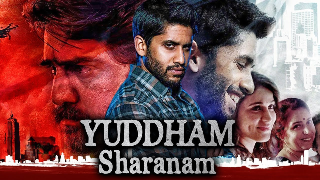 Yuddham Sharanam (2018) Hindi Dubbed Movie 720p UNCUT HDRip 700MB Download