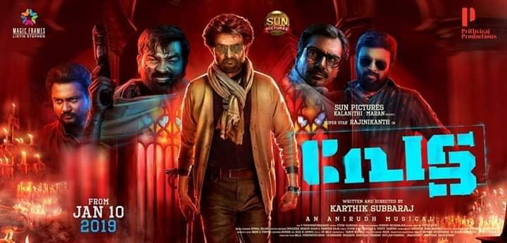 Petta 2019 Hindi Dubbed 720p pDVDRip 700MB Download