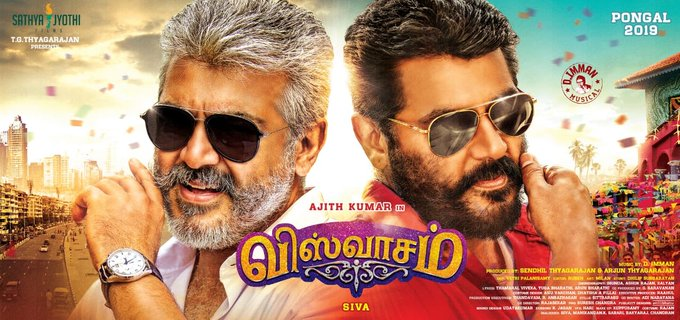 Viswasam (2019) Tamil Movie 720p HQ DVDRip 700MB (Original Audio]