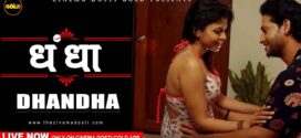 18+ Dhandha 2021 GoldFlix Originals Hindi Short Film 720p HDRip 150MB x264 AAC